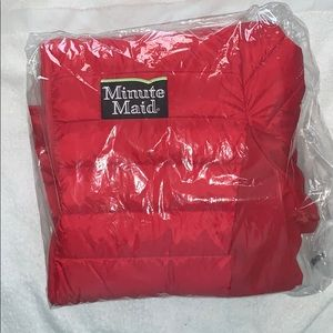 Minute Made Red Puffy Jacket - Women's Large